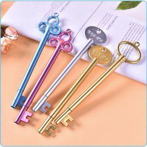 Classic Key Stylish Pen - 3 pcs